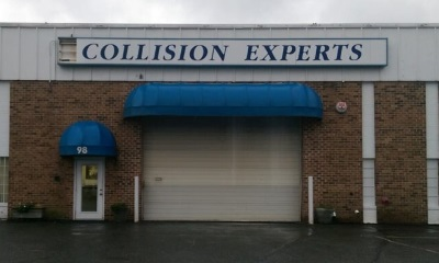 collision experts exterior