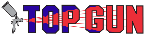 top gun collision logo