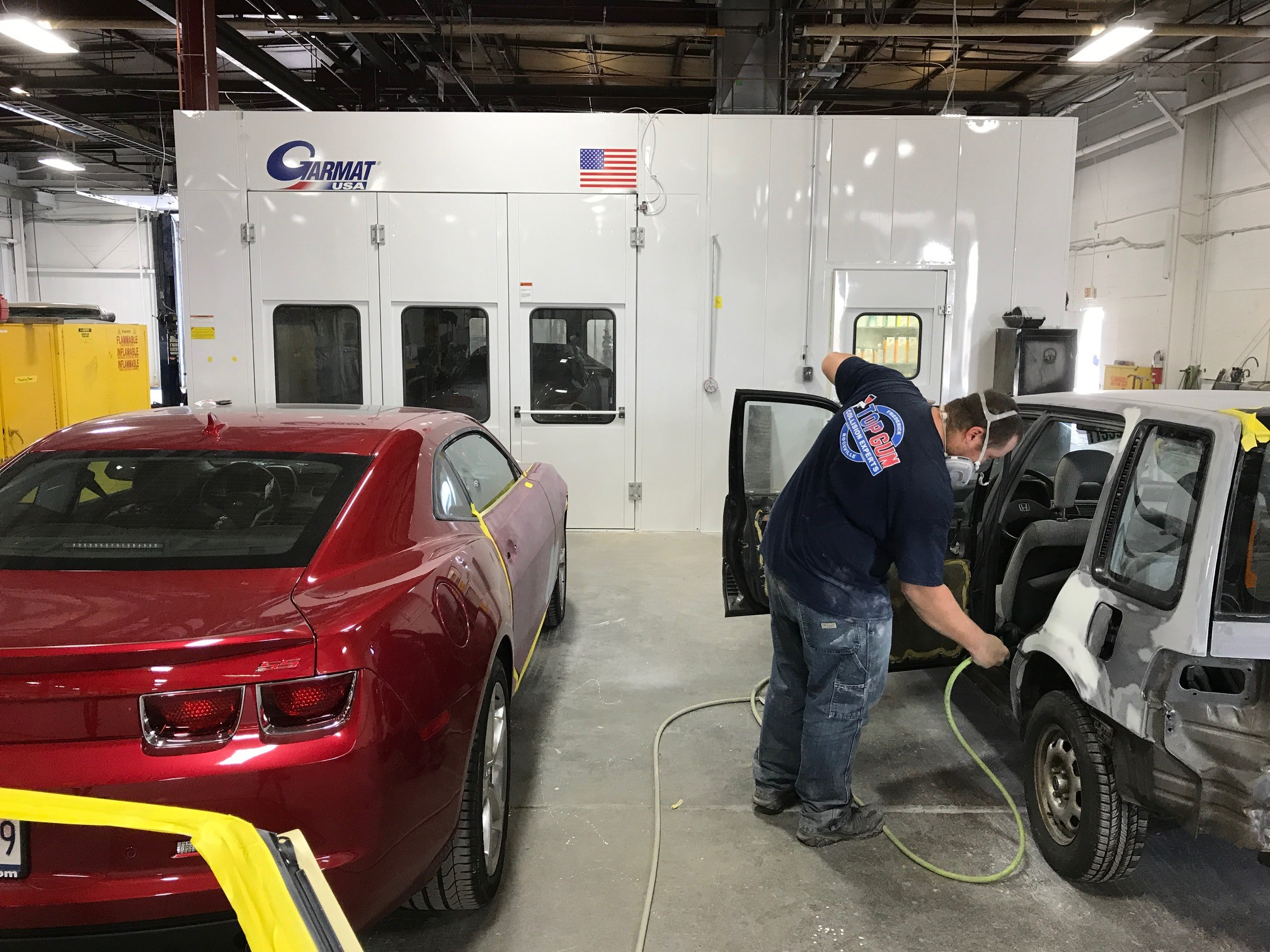 Auto Paint Shop >> Paint Shop Top Gun Collision Repair